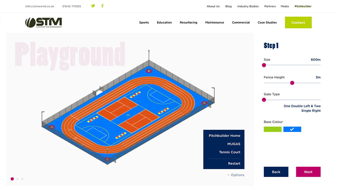 Pitch builder playground